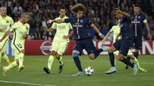 David Luiz, buteur face au Barca