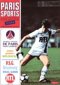 le programme du match (couplé avec celui de Strasbourg)
