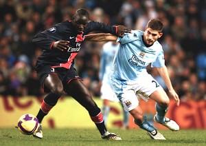 Sakho face à City en Coupe UEFA