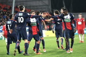 la joie des Parisiens la saison dernière à Brest