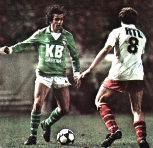 le duel Fernandez-Platini en 1982