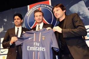 une fin de carrière tranquille pour Beckham à Paris