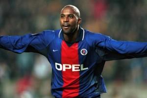 Christian, quatre buts face à Strasbourg (4-2) en 2000