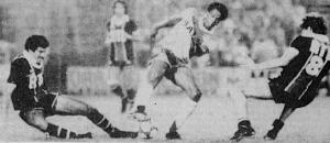 Dahleb et Fernandez face à Couriol