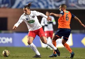 Ibra pour la revanche face à à Montpellier en 2015, le début de la série parisienne