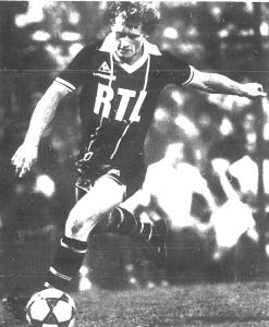 Kist, un triplé contre Mulhouse en 1982