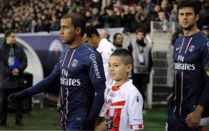 Paris tenu en échec pour la première apparition de Lucas sous le maillot du PSG, le 11 janvier 2013 contre Ajaccio (0-0)