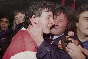 la joie des Peyroche fils et père : il y a 15 ans, le PSG était éliminé par l'équipe bis de Valenciennes...