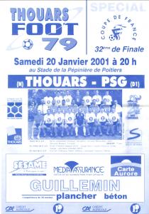 Thouars-PSG en 2001