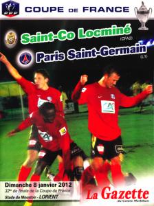 Locminé-PSG en 2012