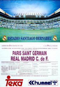 l'affiche du match