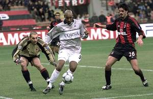 Anelka intenable face à Milan