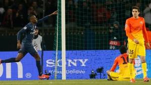 Paris avait eu chaud dans sa série record avec l'égalisation en fin de match par Matuidi contre le Barca