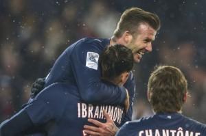 Beckham-Ibra, le duo de choc du PSG face à l'OM