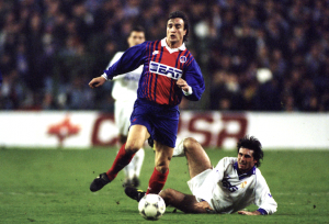 le PSG de Ginola face au Real Madrid en 1994