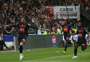 Hoarau, buteur en 2010 face à Monaco