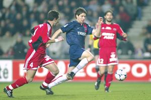 Romain Rocchi en action