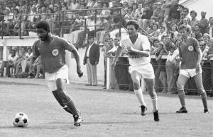 le premier match entre le PSG et Toulouse, en 1973