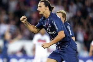 le doublé d'Ibra pour ses débuts en L1 face à Lorient