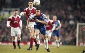 Ginola, impuissant à Arsenal en 1994