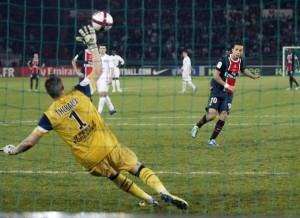 10 sur 10 sur penaltys pour Nenê au PSG
