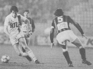 le Yougoslave Surjak en action