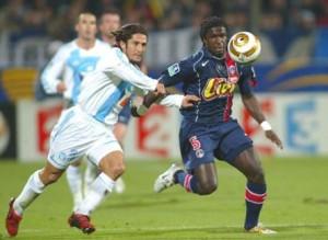 Mendy héros du match en Coupe de la Ligue en 2004