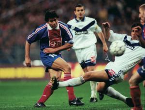 Rai, buteur face à Bordeaux lors de la finale en 1998