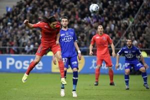 Cavani buteur contre Bastia en finale de la Coupe de la Ligue