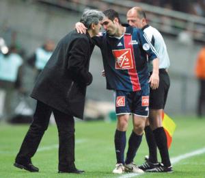 Guy Lacombe et Pedro Miguel Pauleta : l'incroyable coup de bluff du PSG à Nantes