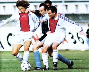 Le PSG face au Havre en 1995