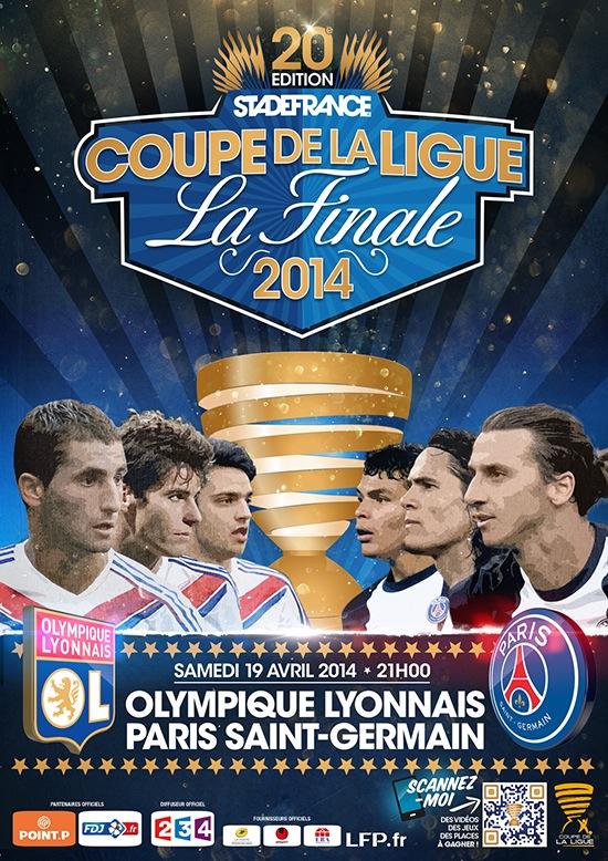 Match du jour 19 avril 2014 psg lyon cavani offre la coupe de la - Match paris lyon coupe de la ligue ...