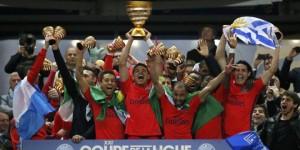 la victoire en Coupe de la Ligue face à Bastia en 2015