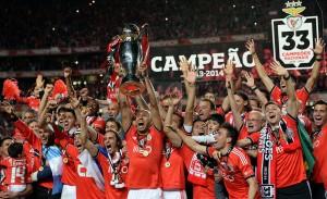 Benfica Lisbonne, roi du Portugal en 2014