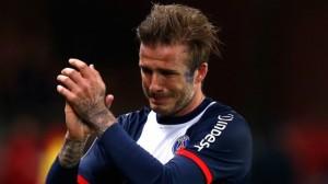Beckham, des adieux réussis à Paris