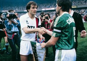 PSG-Saint-Etienne, finale de la Coupe de France 1982
