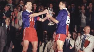 Paul Le Guen et Alain Roche en 1993