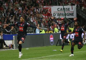 2010, buteur en finale de la Coupe face à Monaco