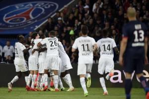 Rennes, le dernier club victorieux au Parc en L1