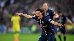 5 buts pour Cavani à Nantes