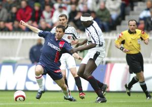 Pauleta, à nouveau décisif face à Rennes