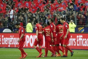 le PSG victorieux contre Bastia en Coupe de la Ligue lors de la dernière finale au SDF
