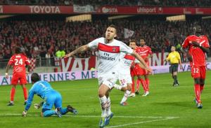 Menez face à Valenciennes, qui possède encore le record face au PSG...