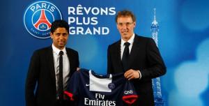 25 juin 2013 : Laurent Blanc nouvel entraîneur du PSG