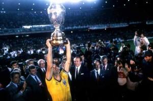 Ricardo, capitaine du Brésil en 1989