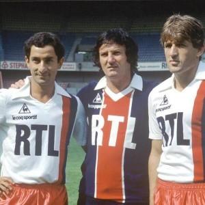 Ardiles et Susic (avec Peyroche) stars de la reprise en 1982