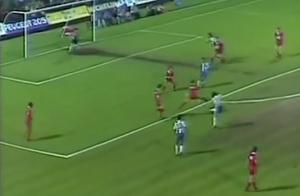 la frappe et le but signé Antonio Souza (capture d'écran)