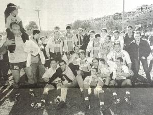 5 avril 1997 : le Stade Français parmi l'élite