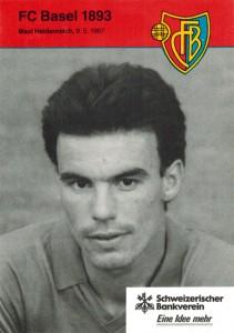 Avec l'équipe suisse de Bâle, en 1990-1991