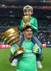 la Coupe de la Ligue en famille